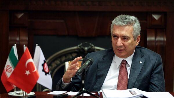 İstanbul Sanayi Odası (İSO) Yönetim Kurulu Başkanı Erdal Bahçıvan - Sputnik Türkiye