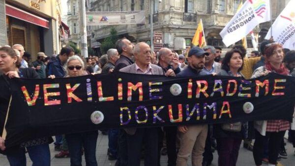 Vekilime Dokunma eylemi - Sputnik Türkiye