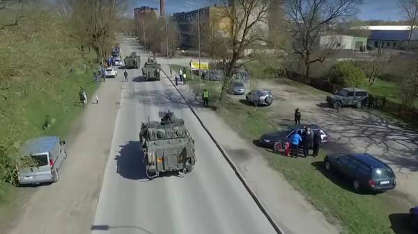NATO'dan Rus sınırı yakınlarında tatbikat - Sputnik Türkiye