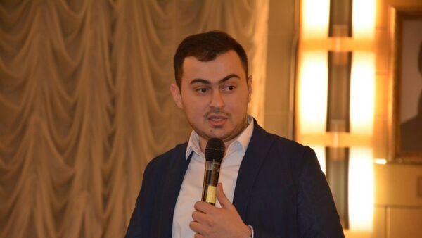 Rusya Azerbaycanlıları Kongresi (VAK) Moskova Dairesi Başkanı Şamil Tagiyev - Sputnik Türkiye