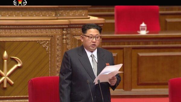Kuzey Kore Devlet Başkanı Kim Jong-un - Sputnik Türkiye