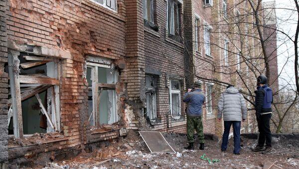 Donetsk - Gazeteciler - Sputnik Türkiye