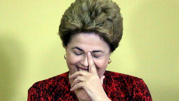 Brezilya Devlet Başkanı Dilma Rousseff - Sputnik Türkiye