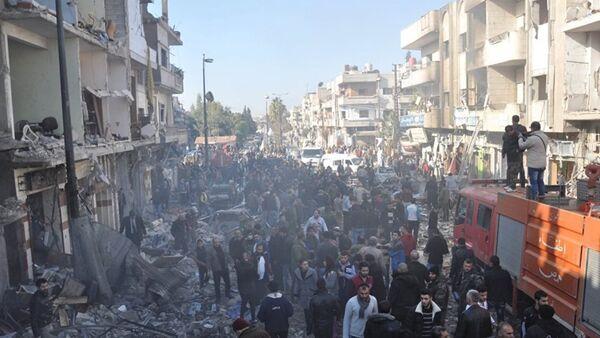Suriye insani yardım - Sputnik Türkiye