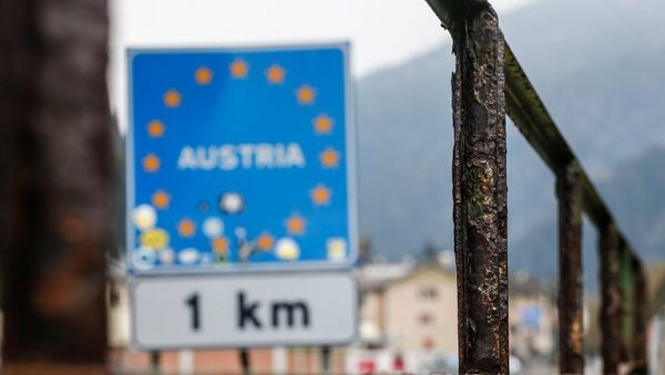 Avusturya-İtalya arasındaki Brenner sınır kapısı - Sputnik Türkiye