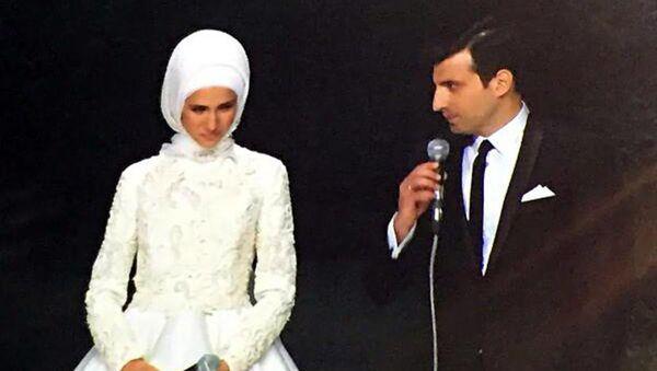 Türkiye Cumhurbaşkanı Recep Tayyip Erdoğan'ın kızı Sümeyye Erdoğan - Sputnik Türkiye