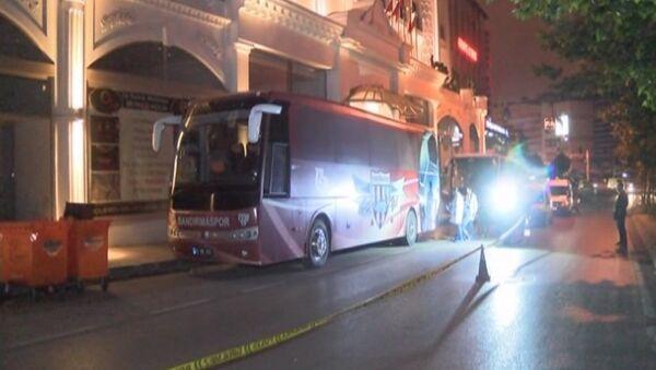Bandırmaspor otobüsüne silahlı saldırı - Sputnik Türkiye