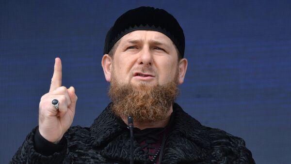 Ramzan Kadirov - Sputnik Türkiye
