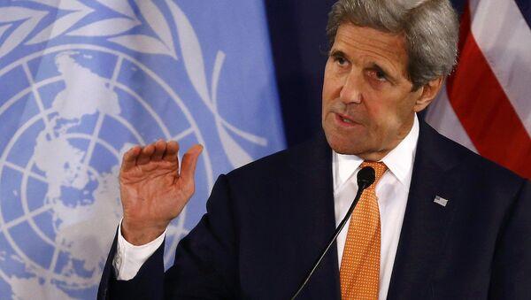 ABD Dışişleri Bakanı John Kerry. - Sputnik Türkiye