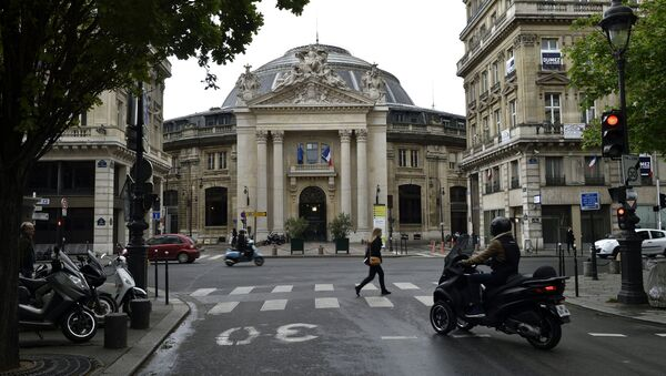 Paris- müze - Sputnik Türkiye