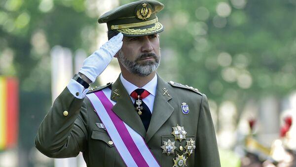 İspanya Kralı Felipe - Sputnik Türkiye