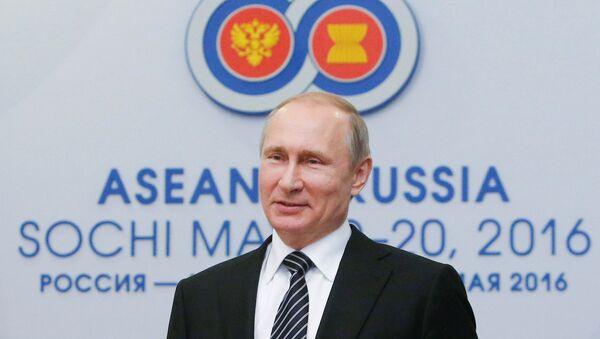 Rusya Devlet Başkanı Vladimir Putin, ASEAN liderleri toplantısı için Soçi'de. - Sputnik Türkiye