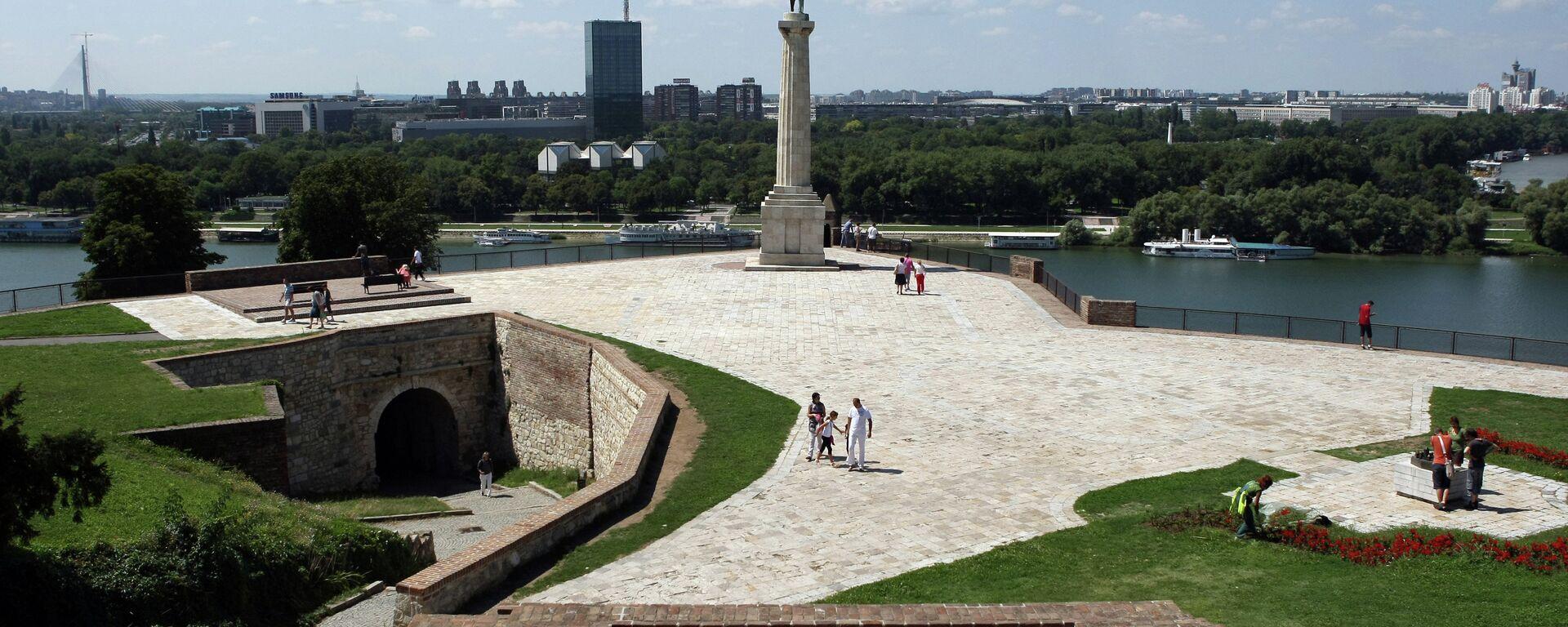 Sırbistan'ın başkenti Belgrad. - Sputnik Türkiye, 1920, 17.08.2021