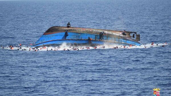 Libya tekne faciası - Sputnik Türkiye