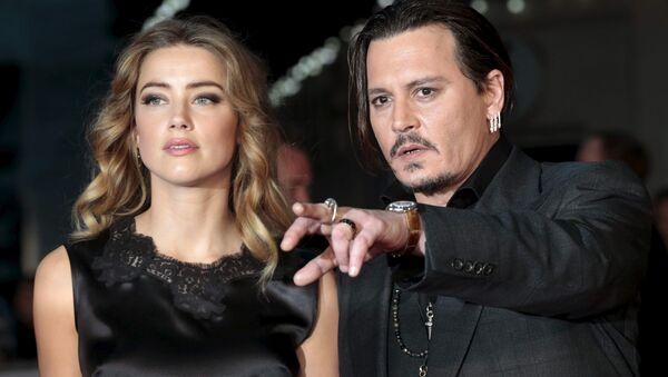Johnny Depp ile Amber Heard - Sputnik Türkiye
