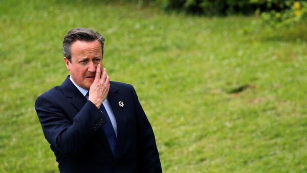 David Cameron / G7 - Sputnik Türkiye