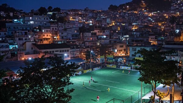 Brezilya / Rio de Janeiro / Favela - Sputnik Türkiye