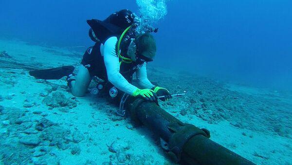 Denizin altından geçen kablolar - Sputnik Türkiye