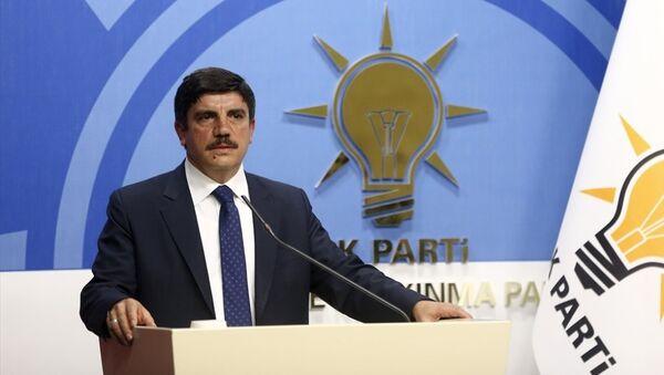 AK Parti Genel Başkan Yardımcısı ve Parti Sözcüsü Yasin Aktay - Sputnik Türkiye