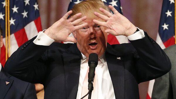 ABD başkanlık yarışının Cumhuriyetçi adayı Donald Trump. - Sputnik Türkiye