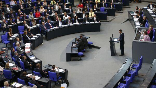 Alman Federal Meclisi - Sputnik Türkiye