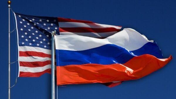 ABD -  Rusya bayrağı - Sputnik Türkiye