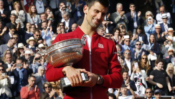 Fransa Açık'ta (Roland Garros) şampiyonluk, Sırp tenisçi Novak Djokovic'in oldu. - Sputnik Türkiye