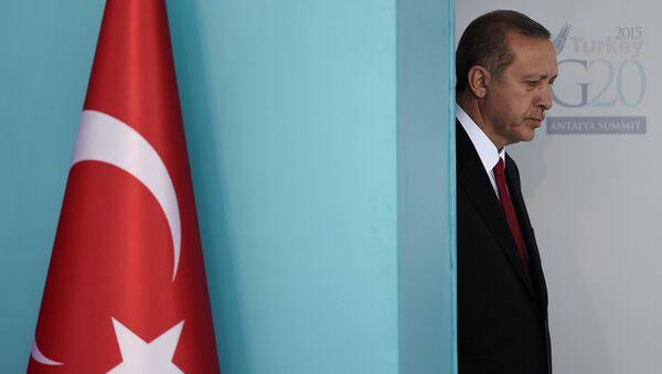 Türkiye Cumhurbaşkanı Recep Tayyip Erdoğan, G20 Liderler Zirvesi'nde. - Sputnik Türkiye