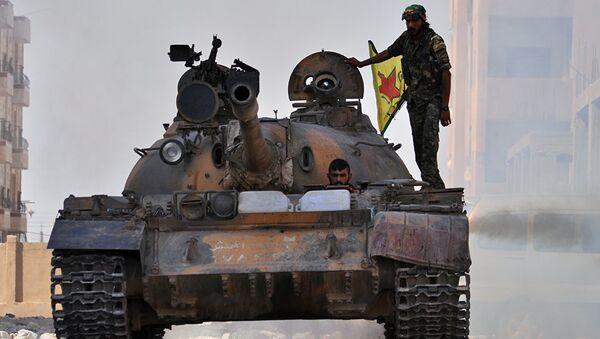 PYD, YPG - Sputnik Türkiye