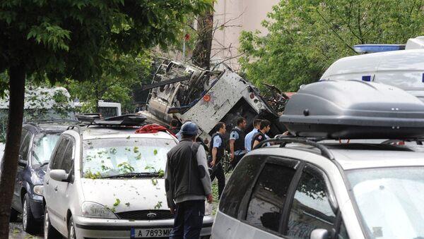 Patlamanın ardından İstanbul Üniversitesi'nin Beyazıt kampüsündeki tüm sınavlar iptal edildi. - Sputnik Türkiye