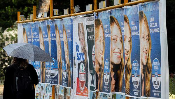 İtalya'da seçim - Sputnik Türkiye