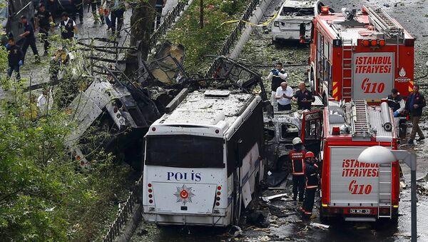 İstanbul - Vezneciler - Patlama - Sputnik Türkiye