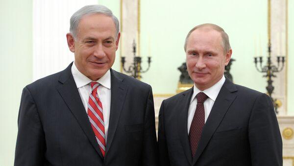 Rusya Devlet Başkanı Vladimir Putin ve İsrail Başbakanı Benyamin Netanyahu. - Sputnik Türkiye