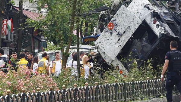 İstanbul Vezneciler'de terör saldırısı. - Sputnik Türkiye