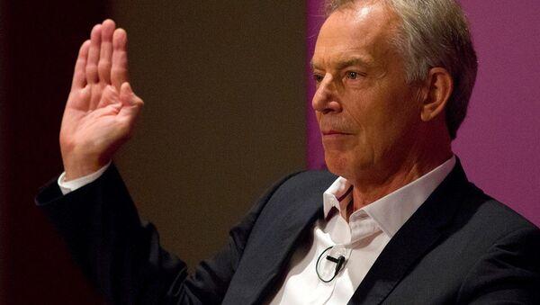 İngiltere'nin eski Başbakanı Tony Blair - Sputnik Türkiye