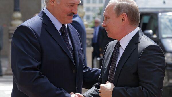 Rusya Devlet Başkanı Vladimir Putin- Belarus Devlet Başkanı Aleksandr Lukaşenko - Sputnik Türkiye
