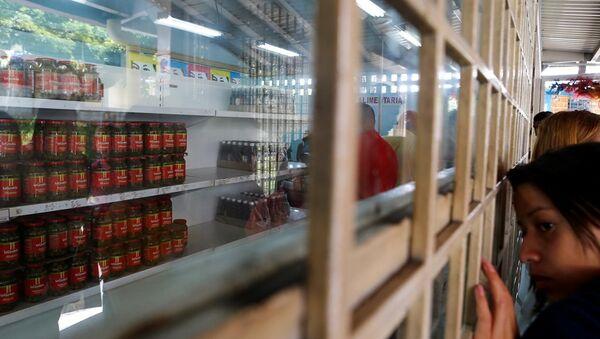 Venezüella gıda krizi - Sputnik Türkiye