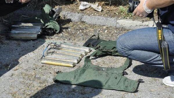 Mersin'in Tarsus ilçesinde, bilye ile güçlendirilmiş 2 canlı bomba yeleği bulundu. - Sputnik Türkiye