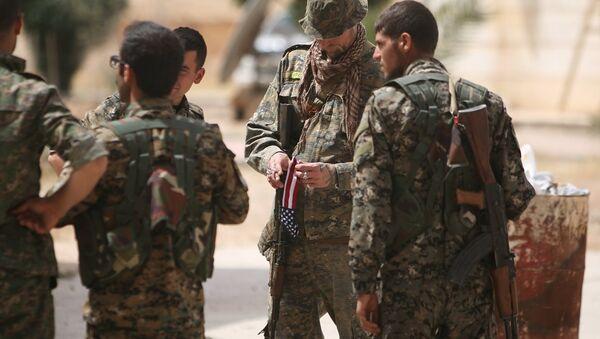 Demokratik Suriye Güçleri - ABD - Menbic - Sputnik Türkiye