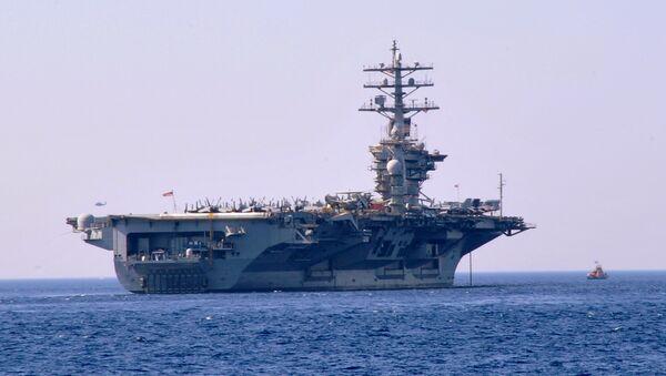 USS Dwight D. Eisenhower / ABD uçak gemisi - Sputnik Türkiye