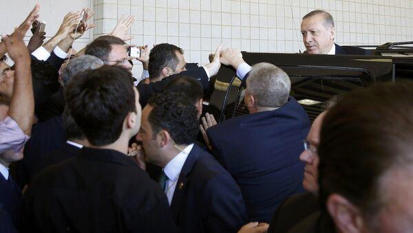 Türkiye Cumhurbaşkanı Recep Tayyip Erdoğan. - Sputnik Türkiye
