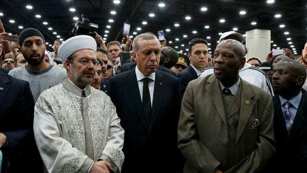 Muhammed Ali cenaze Tayyip Erdoğan - Sputnik Türkiye