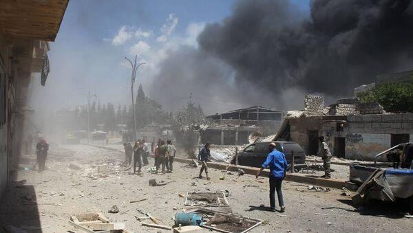 Şam bombalı saldırı - Sputnik Türkiye