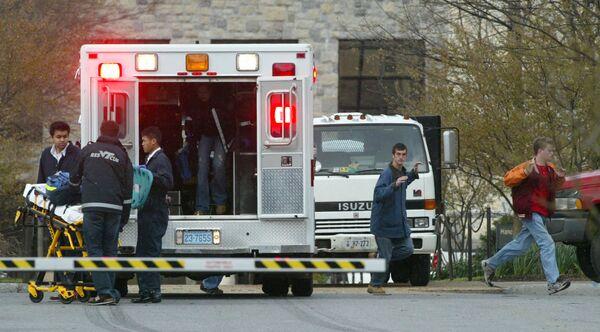 Blacksburg kentindeki Virginia Teknik Üniversitesi'nin kampüsünde 17 Nisan 2007'de 23 yaşındaki öğrenci Seung-Hui Cho tarafından düzenlenen saldırıda, 32 kişi hayatını kaybetti, 17 kişi yaralandı. Olayın faili daha sonra intihar etti. - Sputnik Türkiye