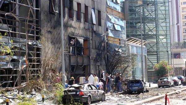 Lübnan'da patlama - Sputnik Türkiye