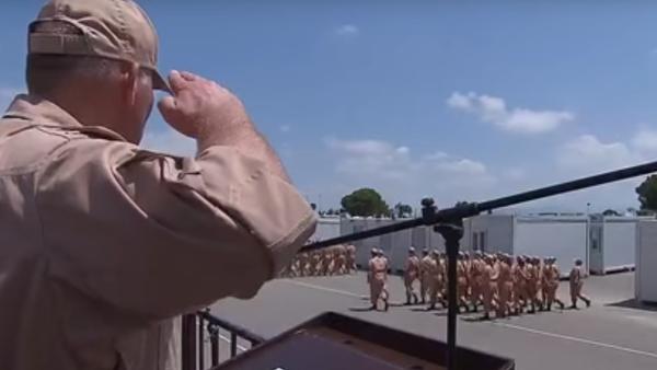 Rusya'nın Suriye'deki Hmeymim Hava Üssü'nde 12 Haziran'da Rusya Günü çerçevesinde kutlamalar gerçekleştirildi. - Sputnik Türkiye