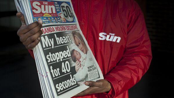 İngiliz The Sun gazetesi. - Sputnik Türkiye