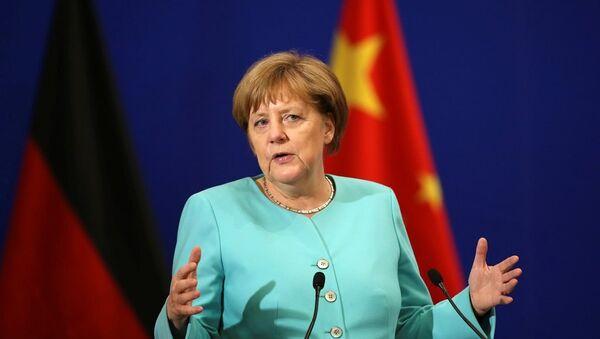 Almanya Başbakanı Angela Merkel Çin'de - Sputnik Türkiye