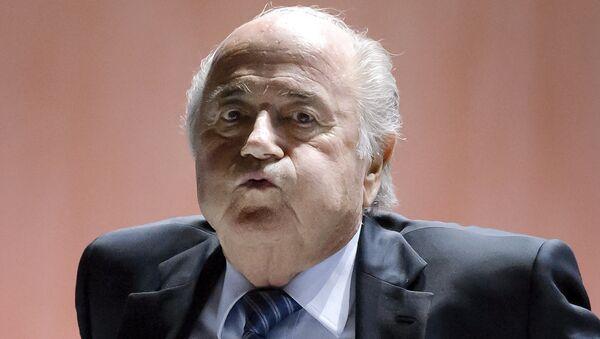 Sepp Blatter - Sputnik Türkiye