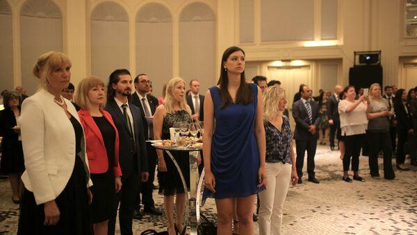 Rusya Federasyonu Ulusal Günü resepsiyonu, İstanbul Conrad Otel'de gerçekleştirildi. - Sputnik Türkiye